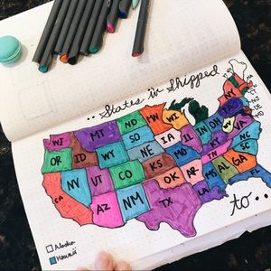 Accessories - •• States I have shipped too 🗺